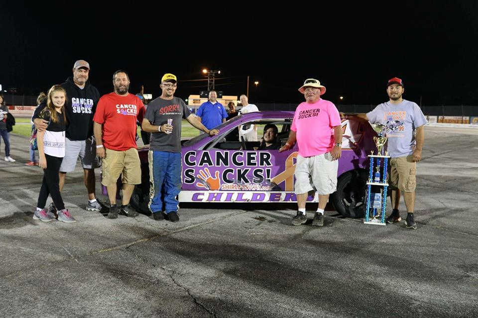 Wright Mechanical Supporters-Cancer Sucks logo-Shirley's Way-Cancer Sucks-Help with bills-People Helping People-goHaffers-Split the pot-Queen of Hearts