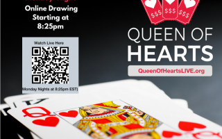 Queen of Hearts Weekly Drawings